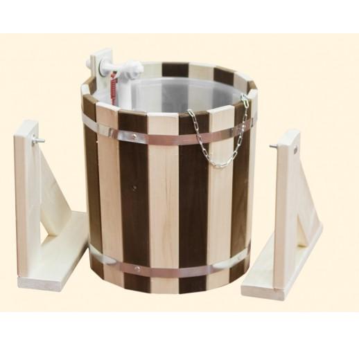 """Обливное устройство """"Русский душ"""" с пластиковой вставкой (комбинированное термолипой)"""