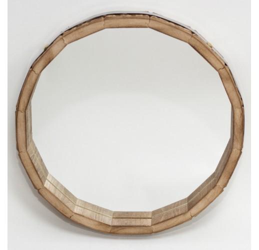 """Зеркало-бочонок """"Бэлла"""", диаметр 300 мм."""